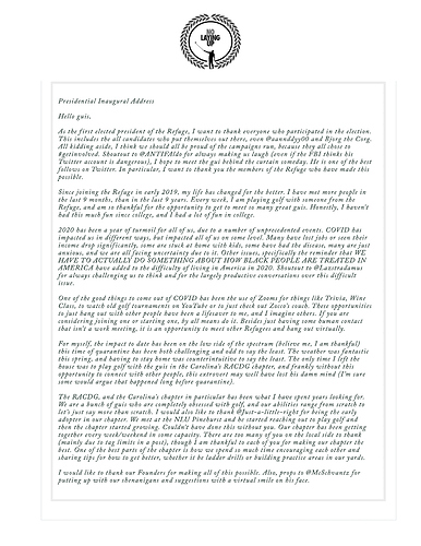 1st Pres Address Pg 1